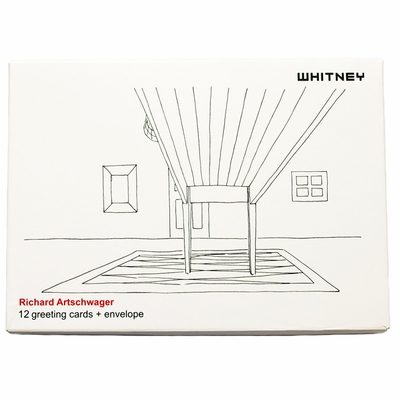 Richard Artschwager Greeting Card Set