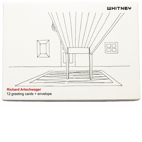 <font color=grey>WHITNEY EXCLUSIVE<BR></font>Richard Artschwager Greeting Card Set