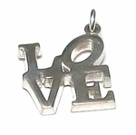 Robert Indiana LOVE Charm