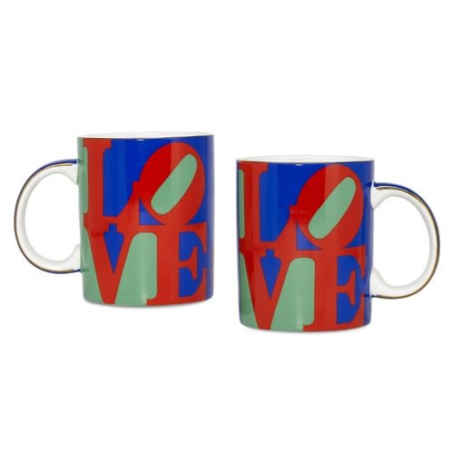 Robert Indiana LOVE Mug Set