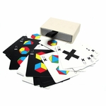 Tauba Auerbach Limited Edition Playing Cards (White)