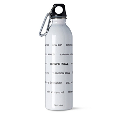 WOW Stainless Steel Yoko Ono Water Bottle