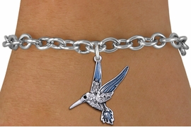 <BR>                       BIRD JEWELRY <bR>                EXCLUSIVELY OURS!! <Br>           AN ALLAN ROBIN DESIGN!! <BR>  CLICK HERE TO SEE 1000+ EXCITING <BR>        CHANGES THAT YOU CAN MAKE! <BR>     LEAD, NICKEL & CADMIUM FREE!! <BR>   W1440SB - SILVER TONE AND CLEAR <BR> CRYSTAL HUMMINGBIRD CHARM & BRACELET <BR>         FROM $5.50 TO $9.35 �2013