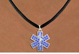 <BR>           EMT NECKLACE WHOLESALE <bR>                   EXCLUSIVELY OURS!! <Br>              AN ALLAN ROBIN DESIGN!! <BR>     CLICK HERE TO SEE 1000+ EXCITING <BR>           CHANGES THAT YOU CAN MAKE! <BR>        LEAD, NICKEL & CADMIUM FREE!! <BR>      W1468SN - SILVER TONE AND CLEAR <BR> CRYSTAL EMT CROSS CHARM AND NECKLACE <BR>            FROM $5.55 TO $9.00 �2013