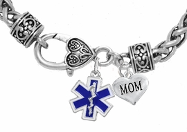 <BR>                          EMT, MOM CHARM BRACELET<BR>                             AN ALLAN ROBIN DESIGN!! <Br>                         CADMIUM, LEAD & NICKEL FREE!!  <Br>             W1496-1837B1 ON A WHEAT CHAIN BRACELET <BR>                              FROM $7.50 TO $9.50 �2016