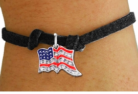 <bR>               EXCLUSIVELY OURS!!<Br>         AN ALLAN ROBIN DESIGN!! <BR>CLICK HERE TO SEE 1000+ EXCITING <BR>   CHANGES THAT YOU CAN MAKE!<BR>   LEAD, NICKEL & CADMIUM FREE!! <BR> W1317SB - PATRIOTIC USA FLAG <BR>CRYSTAL CHARM & CHILDS BRACELET <BR>     FROM $5.15 TO $9.00 �2012