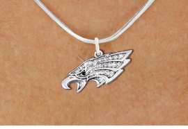 <bR>                  EXCLUSIVELY OURS!!<Br>            AN ALLAN ROBIN DESIGN!!<BR>   CLICK HERE TO SEE 1000+ EXCITING<BR>      CHANGES THAT YOU CAN MAKE!<BR>     LEAD, NICKEL & CADMIUM FREE!!<BR> W1318SN - BEAUTIFUL EAGLE HEAD <BR>      CRYSTAL CHARM AND NECKLACE <BR>         FROM $5.55 TO $9.00 �2012