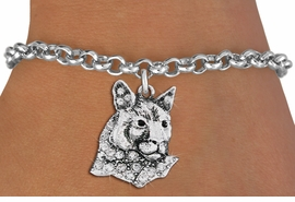 <bR>               EXCLUSIVELY OURS!!<Br>         AN ALLAN ROBIN DESIGN!! <BR>CLICK HERE TO SEE 1000+ EXCITING <BR>   CHANGES THAT YOU CAN MAKE!<BR>   LEAD, NICKEL & CADMIUM FREE!! <BR> W1354SB - DETAILED COUGAR WITH <BR> CLEAR CRYSTALS CHARM & BRACELET <BR>     FROM $5.15 TO $9.00 �2012
