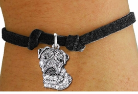 <bR>               EXCLUSIVELY OURS!!<Br>         AN ALLAN ROBIN DESIGN!! <BR>CLICK HERE TO SEE 1000+ EXCITING <BR>   CHANGES THAT YOU CAN MAKE!<BR>   LEAD, NICKEL & CADMIUM FREE!! <BR> W1356SB - DETAILED BULLDOG HEAD <BR> WITH CRYSTALS & CHILDS BRACELET <BR>     FROM $5.15 TO $9.00 �2012