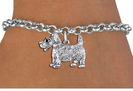 <bR>               EXCLUSIVELY OURS!!<Br>         AN ALLAN ROBIN DESIGN!! <BR>CLICK HERE TO SEE 1000+ EXCITING <BR>   CHANGES THAT YOU CAN MAKE!<BR>   LEAD, NICKEL & CADMIUM FREE!! <BR> W1359SB - DETAILED TERRIER <BR> WITH CRYSTALS CHARM & BRACELET <BR>     FROM $5.15 TO $9.00 �2012