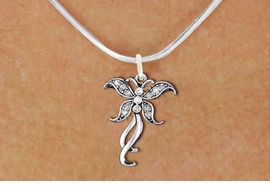 <bR>                   EXCLUSIVELY OURS!! <Br>               AN ALLAN ROBIN DESIGN!! <BR>      CLICK HERE TO SEE 1000+ EXCITING <BR>         CHANGES THAT YOU CAN MAKE! <BR>        LEAD, NICKEL & CADMIUM FREE!! <BR>  W1392SN - SILVER TONE AND CRYSTAL <BR>    BUTTERFLY CHARM AND NECKLACE <BR>            FROM $5.55 TO $9.00 �2013
