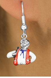 <bR>               EXCLUSIVELY OURS!!<BR>         AN ALLAN ROBIN DESIGN!!<BR>CLICK HERE TO SEE 1000+ EXCITING<BR>   CHANGES THAT YOU CAN MAKE!<BR>                  LEAD & NICKEL FREE!! <BR>W1299SE -  SILVER TONE HAND PAINTED <BR>SQUARE DANCE CALLER CHARM EARRINGS  <BR>      FROM $3.25 TO $8.00 �2012