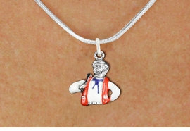 <bR>               EXCLUSIVELY OURS!!<BR>         AN ALLAN ROBIN DESIGN!!<BR>CLICK HERE TO SEE 1000+ EXCITING<BR>   CHANGES THAT YOU CAN MAKE!<BR>                LEAD & NICKEL FREE!! <BR>W1299SN -  SILVER TONE HAND PAINTED <Br>SQUARE DANCE CALLER CHARM & NECKLACE <BR>      FROM $4.55 TO $8.00 �2012