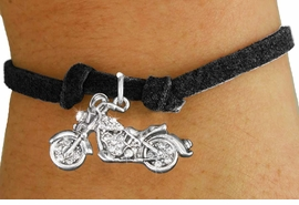 <bR>                   EXCLUSIVELY OURS!!<Br>             AN ALLAN ROBIN DESIGN!!<BR>    CLICK HERE TO SEE 120+ EXCITING<BR>       CHANGES THAT YOU CAN MAKE!<BR>        LEAD, NICKEL & CADMIUM FREE!!<BR>W1188SB - CRYSTAL MOTORCYCLE CHARM <Br>  & CHILDRENS BRACELET FROM $5.15 TO $9.00 �2012