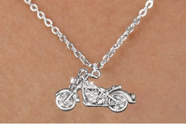 <bR>                      EXCLUSIVELY OURS!!<Br>                AN ALLAN ROBIN DESIGN!!<BR>       CLICK HERE TO SEE 120+ EXCITING<BR>          CHANGES THAT YOU CAN MAKE!<BR>          LEAD, NICKEL & CADMIUM FREE!!<BR>W1188SN - CRYSTAL MOTORCYCLE CHARM<BR> & CHILDRENS NECKLACE FROM $5.55 TO $9.00 �2012