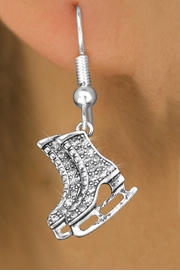<bR>                 EXCLUSIVELY OURS!!<Br>           AN ALLAN ROBIN DESIGN!!<BR>  CLICK HERE TO SEE 120+ EXCITING<BR>     CHANGES THAT YOU CAN MAKE!<BR>     LEAD, NICKEL & CADMIUM FREE!!<BR>     W1271SE - DETAILED ICE SKATES  <BR>      CRYSTAL CHARM EARRINGS <BR>       FROM $4.95 TO $10.00 �2012