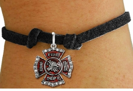 <bR>               EXCLUSIVELY OURS!!<Br>         AN ALLAN ROBIN DESIGN!! <BR>CLICK HERE TO SEE 120+ EXCITING <BR>   CHANGES THAT YOU CAN MAKE!<BR>   LEAD, NICKEL & CADMIUM FREE!! <BR> W1284SB - FIRE DEPARTMENT SHIELD <BR>CRYSTAL CHARM & CHILDS BRACELET <BR>     FROM $5.15 TO $9.00 �2012