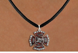 <bR>                  EXCLUSIVELY OURS!!<Br>            AN ALLAN ROBIN DESIGN!!<BR>   CLICK HERE TO SEE 120+ EXCITING<BR>      CHANGES THAT YOU CAN MAKE!<BR>     LEAD, NICKEL & CADMIUM FREE!!<BR> W1284SN - FIRE DEPARTMENT SHIELD <BR>      CRYSTAL CHARM AND NECKLACE <BR>         FROM $5.40 TO $9.85 �2012