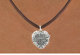 <bR>                      EXCLUSIVELY OURS!!<Br>                AN ALLAN ROBIN DESIGN!!<BR>       CLICK HERE TO SEE 120+ EXCITING<BR>          CHANGES THAT YOU CAN MAKE!<BR>                     LEAD & NICKEL FREE!!<BR>      W1086SN - COWGIRL HEART CHARM<BR> & NECKLACE FROM $5.55 TO $9.00 �2011