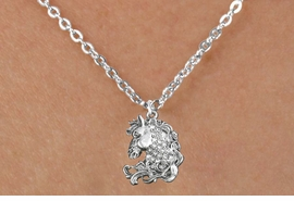 <bR>                      EXCLUSIVELY OURS!!<Br>                AN ALLAN ROBIN DESIGN!!<BR>       CLICK HERE TO SEE 120+ EXCITING<BR>          CHANGES THAT YOU CAN MAKE!<BR>                     LEAD & NICKEL FREE!!<BR>W1140SN - CRYSTAL HORSE CHARM & <BR>CHILDRENS NECKLACE FROM $5.55 TO $9.00 �2012