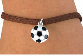 <bR>              EXCLUSIVELY OURS!!<Br>        AN ALLAN ROBIN DESIGN!!<BR>CLICK HERE TO SEE 120+ EXCITING<BR>   CHANGES THAT YOU CAN MAKE!<BR>              LEAD & NICKEL FREE!!<BR>W618SB -  SOCCER BALL  & BRACELET <BR>     FROM AS LOW AS $3.85 TO $7.50