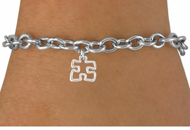 <bR>                 EXCLUSIVELY OURS!!<Br>           AN ALLAN ROBIN DESIGN!!<BR>  CLICK HERE TO SEE 120+ EXCITING<BR>    CHANGES THAT YOU CAN MAKE!<BR>               LEAD & NICKEL FREE!!<BR>   W621SB - SMALL AUTISM PUZZLE<Br>     PIECE & BRACELET ©2010 FROM<bR>                        $3.25 TO $7.50