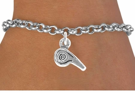 <bR>               EXCLUSIVELY OURS!!<Br>         AN ALLAN ROBIN DESIGN!!<BR>CLICK HERE TO SEE 120+ EXCITING<BR>  CHANGES THAT YOU CAN MAKE!<BR>             LEAD & NICKEL FREE!!<BR>       W625SB - WHISTLE CHARM<Br>     & BRACELET AS LOW AS $3.25