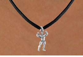 <bR>              EXCLUSIVELY OURS!!<Br>         AN ALLAN ROBIN DESIGN!!<BR>CLICK HERE TO SEE 120+ EXCITING<BR>  CHANGES THAT YOU CAN MAKE!<BR>             LEAD & NICKEL FREE!!<BR>        W626SN - BODYBUILDER<BR>    & NECKLACE AS LOW AS $3.65