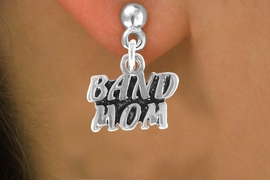 "<bR>                EXCLUSIVELY OURS!!<Br>          AN ALLAN ROBIN DESIGN!!<BR> CLICK HERE TO SEE 120+ EXCITING<BR>    CHANGES THAT YOU CAN MAKE!<BR>               LEAD & NICKEL FREE!!<BR>        W638SE - ""BAND MOM"" &<Br>        EARRINGS FROM $4.50 TO $8.35"