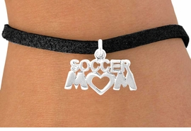 "<bR>               EXCLUSIVELY OURS!!<Br>         AN ALLAN ROBIN DESIGN!!<BR>CLICK HERE TO SEE 120+ EXCITING<BR>   CHANGES THAT YOU CAN MAKE!<BR>              LEAD & NICKEL FREE!!<BR>         W657SB - ""SOCCER MOM""<Br>      & BRACELET FROM $4.50 TO $8.35"