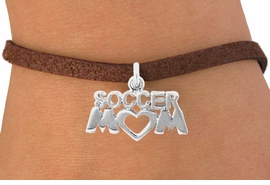 "<bR>               EXCLUSIVELY OURS!!<Br>         AN ALLAN ROBIN DESIGN!!<BR>CLICK HERE TO SEE 120+ EXCITING<BR>   CHANGES THAT YOU CAN MAKE!<BR>              LEAD & NICKEL FREE!!<BR>         W657SB - ""SOCCER MOM""<Br>      & BRACELET FROM $3.65 TO $7.50"