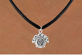 "<bR>                 EXCLUSIVELY OURS!!<Br>           AN ALLAN ROBIN DESIGN!!<BR>  CLICK HERE TO SEE 120+ EXCITING<BR>     CHANGES THAT YOU CAN MAKE!<BR>                LEAD & NICKEL FREE!!<BR>      W708SN - ""HOCKEY ROCKS"" &<BR>     NECKLACE FROM $4.50 TO $8.35"