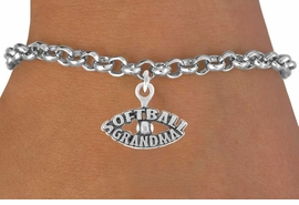 "<bR>               EXCLUSIVELY OURS!!<Br>         AN ALLAN ROBIN DESIGN!!<BR>CLICK HERE TO SEE 120+ EXCITING<BR>   CHANGES THAT YOU CAN MAKE!<BR>              LEAD & NICKEL FREE!!<BR> W709SB - ""SOFTBALL GRANDMA""<Br>   BRACELET FROM $4.50 TO $8.35"