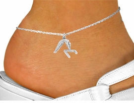 "<bR>               EXCLUSIVELY OURS!!<BR>         AN ALLAN ROBIN DESIGN!!<BR> CLICK HERE TO SEE 120+ EXCITING<BR>    CHANGES THAT YOU CAN MAKE!<BR>               LEAD & NICKEL FREE!!<BR>    W744SAK - ""GYMNAST ON BAR""<Br>    & ANKLET FROM $4.50 TO $8.35"
