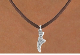 "<bR>                 EXCLUSIVELY OURS!!<Br>           AN ALLAN ROBIN DESIGN!!<BR>  CLICK HERE TO SEE 120+ EXCITING<BR>     CHANGES THAT YOU CAN MAKE!<BR>                LEAD & NICKEL FREE!!<BR>      W745SN - ""BALLET SLIPPER"" &<BR>     NECKLACE FROM $4.05 TO $7.50"