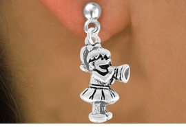 <bR>               EXCLUSIVELY OURS!!<Br>         AN ALLAN ROBIN DESIGN!!<BR>CLICK HERE TO SEE 120+ EXCITING<BR>   CHANGES THAT YOU CAN MAKE!<BR>               LEAD & NICKEL FREE!!<BR>W824SE -LITTLE GIRL CHEERLEADER<Br>  EARRINGS FROM $3.25 TO $8.00