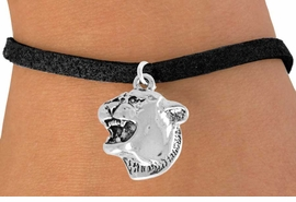 <bR>               EXCLUSIVELY OURS!!<Br>         AN ALLAN ROBIN DESIGN!!<BR>CLICK HERE TO SEE 120+ EXCITING<BR>   CHANGES THAT YOU CAN MAKE!<BR>               LEAD & NICKEL FREE!!<BR>          W826SB - COUGAR HEAD<Br>    BRACELET FROM $3.65 TO $7.50