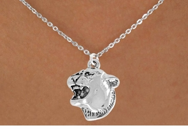 <bR>               EXCLUSIVELY OURS!!<Br>         AN ALLAN ROBIN DESIGN!!<BR>CLICK HERE TO SEE 120+ EXCITING<BR>   CHANGES THAT YOU CAN MAKE!<BR>               LEAD & NICKEL FREE!!<BR>          W826SN - COUGAR HEAD<Br>   NECKLACE FROM $4.05 TO $7.50