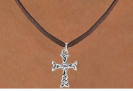 <bR>                 EXCLUSIVELY OURS!!<Br>           AN ALLAN ROBIN DESIGN!!<BR>  CLICK HERE TO SEE 120+ EXCITING<BR>     CHANGES THAT YOU CAN MAKE!<BR>                LEAD & NICKEL FREE!!<BR>      W828SN - AUSTRIAN CRYSTAL<Br>     ACCENTED CELTIC KNOT CROSS<BR>    NECKLACE FROM $4.80 TO $8.25