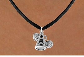 "<bR>               EXCLUSIVELY OURS!!<Br>         AN ALLAN ROBIN DESIGN!!<BR>CLICK HERE TO SEE 120+ EXCITING<BR>   CHANGES THAT YOU CAN MAKE!<BR>              LEAD & NICKEL FREE!!<BR>   W835SN - ""CHEER"" MEGAPHONE<Br>   NECKLACE FROM $4.05 TO $7.50"