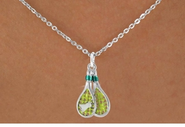 <bR>                EXCLUSIVELY OURS!!<Br>          AN ALLAN ROBIN DESIGN!!<BR>CLICK HERE TO SEE 120+ EXCITING<BR>   CHANGES THAT YOU CAN MAKE!<BR> W720SN - COLORED BADMINTON<Br>   RACKETS & BIRDIE CHARM ON A<bR>  NECKLACE FROM  $4.50 TO $8.35