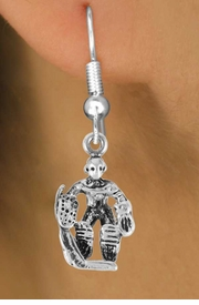 <bR>                 EXCLUSIVELY OURS!!<Br>           AN ALLAN ROBIN DESIGN!!<BR>  CLICK HERE TO SEE 500+ EXCITING<BR>     CHANGES THAT YOU CAN MAKE!<BR>                LEAD & NICKEL FREE!!<BR>            W757SE � HOCKEY GUARD<BR>     EARRINGS FROM $3.25 TO $8.00
