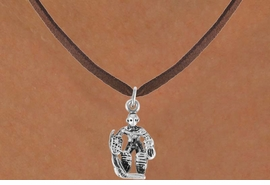 <bR>                 EXCLUSIVELY OURS!!<Br>           AN ALLAN ROBIN DESIGN!!<BR>  CLICK HERE TO SEE 500+ EXCITING<BR>     CHANGES THAT YOU CAN MAKE!<BR>                LEAD & NICKEL FREE!!<BR>           W757SN � HOCKEY GUARD<BR>     NECKLACE FROM $4.05 TO $7.50