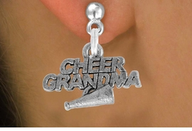<bR>               EXCLUSIVELY OURS!!<BR>         AN ALLAN ROBIN DESIGN!!<BR>CLICK HERE TO SEE 500+ EXCITING<BR>   CHANGES THAT YOU CAN MAKE!<BR>              LEAD & NICKEL FREE!!<BR>     W905SE - CHEER GRANDMA &<Br>    EARRINGS FROM $5.65 TO $10.00