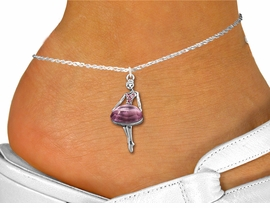 <bR>                 EXCLUSIVELY OURS!!<BR>           AN ALLAN ROBIN DESIGN!!<BR>  CLICK HERE TO SEE 600+ EXCITING<BR>     CHANGES THAT YOU CAN MAKE!<BR>LEAD, NICKEL & CADMIUM FREE!!<BR> W1269SAK - BEAUTIFUL  BALLERINA <BR>ROSE CRYSTAL CHARM AND ANKLET <Br>      FROM $4.35 TO $9.00 �2012