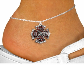 <bR>                 EXCLUSIVELY OURS!!<BR>           AN ALLAN ROBIN DESIGN!!<BR>  CLICK HERE TO SEE 600+ EXCITING<BR>     CHANGES THAT YOU CAN MAKE!<BR>LEAD, NICKEL & CADMIUM FREE!!<BR>W1284SAK - FIRE DEPARTMENT SHIELD <BR>      CRYSTAL CHARM AND ANKLET <Br>      FROM $4.35 TO $9.00 �2012