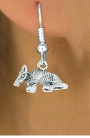 "<bR>               EXCLUSIVELY OURS!!<BR>         AN ALLAN ROBIN DESIGN!!<BR>CLICK HERE TO SEE 600+ EXCITING<BR>   CHANGES THAT YOU CAN MAKE!<BR>              LEAD & NICKEL FREE!!<BR>          W1012SE - ""ARMADILLO""<Br>  EARRINGS FROM $3.25 TO $8.00"