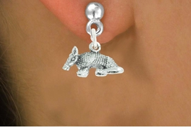 "<bR>               EXCLUSIVELY OURS!!<BR>         AN ALLAN ROBIN DESIGN!!<BR>CLICK HERE TO SEE 600+ EXCITING<BR>   CHANGES THAT YOU CAN MAKE!<BR>              LEAD & NICKEL FREE!!<BR>          W1012SE - ""ARMADILLO""<Br>  EARRINGS FROM $4.50 TO $8.35"