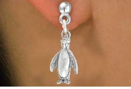 "<bR>               EXCLUSIVELY OURS!!<BR>         AN ALLAN ROBIN DESIGN!!<BR>CLICK HERE TO SEE 600+ EXCITING<BR>   CHANGES THAT YOU CAN MAKE!<BR>              LEAD & NICKEL FREE!!<BR>              W1013SE - ""PENGUIN""<Br>  EARRINGS FROM $3.25 TO $8.00"