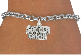 "<bR>               EXCLUSIVELY OURS!!<BR>         AN ALLAN ROBIN DESIGN!!<BR>CLICK HERE TO SEE 600+ EXCITING<BR>   CHANGES THAT YOU CAN MAKE!<BR>              LEAD & NICKEL FREE!!<BR>      W1022SB - ""SOCCER CHICK"" <Br>   & BRACELET FROM $4.15 TO $8.00<BR>                                  �2010"